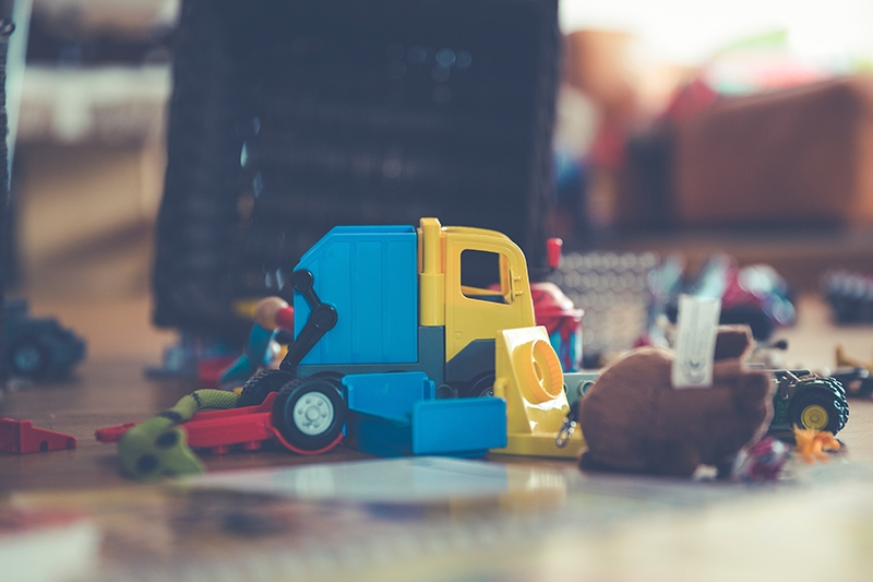 Organise Kids' Toys With Self Storage
