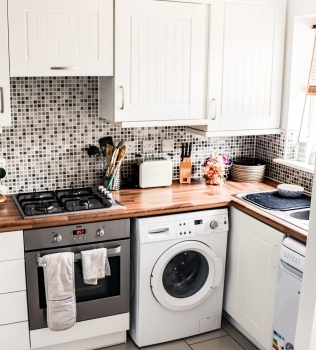 Laundry Room Makeover on a Budget